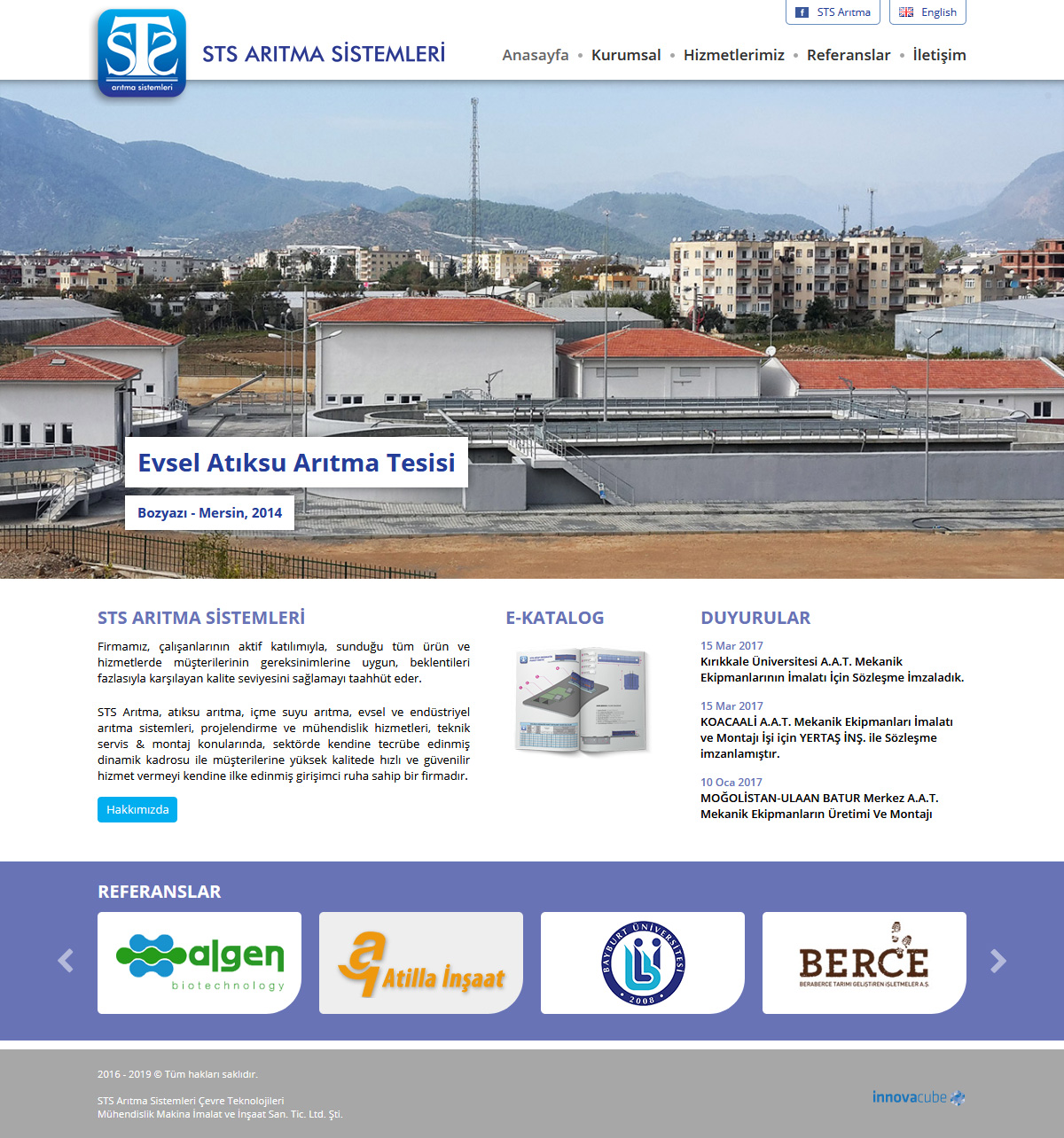 Web Design, STS Treatment Ltd.